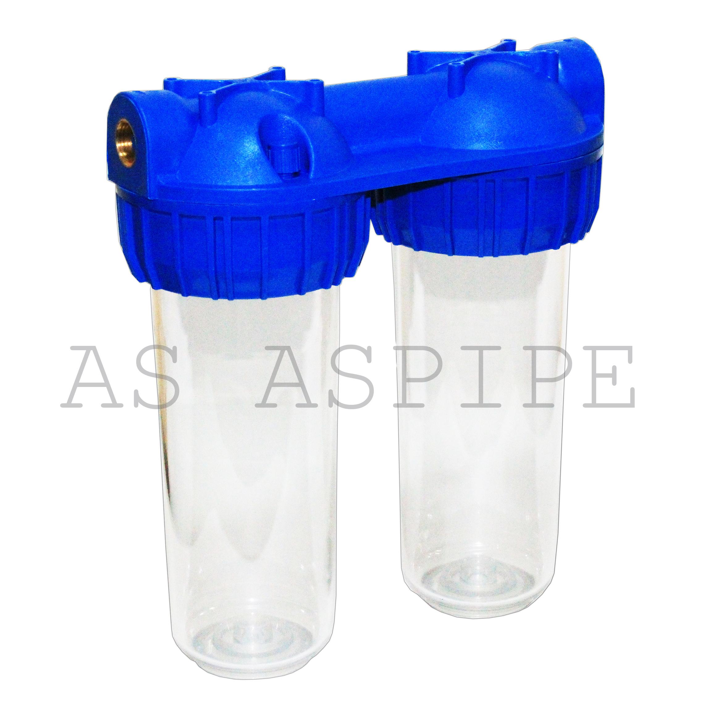 Колба двойная прозрачная (YL-Q10-AA BRASS)